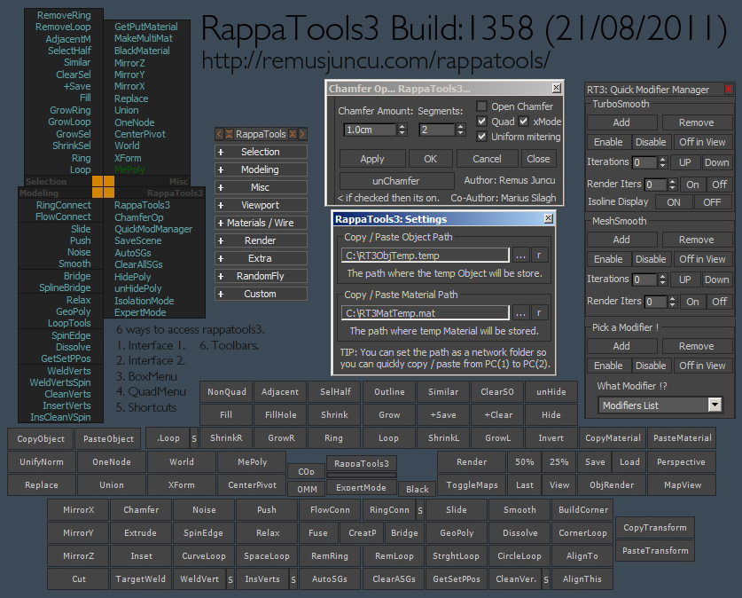 RappaTools3 Script for 3ds Max has been Released. full version halo combat